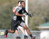 Running back prospect Kion Williams (Interlachen/Interlachen) works out during a 7-on-7 football practice on Saturday, March 6, 2010 at Wrigley Fields Park in Citra, Fla. / Gator Country photo by Tim Casey