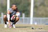 Class of 2012 tight end prospect Sean Price (Citra/North Marion) takes a break during a 7-on-7 football practice on Saturday, March 6, 2010 at Wrigley Fields Park in Citra, Fla. / Gator Country photo by Tim Casey