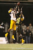 Galena Park, Texas (North Shore HS) wide receiver DeAndrew White  leaps to make a catch over Latwan Anderson during the first half of the U.S. Army All-American Bowl on Saturday, January 9, 2010 at the Alamodome in San Antonio, Texas. / Gator Country photo by Tim Casey