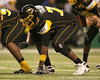 Olive Branch, Miss. (Olive Branch HS) offensive lineman Shon Coleman lines up during the second half of the U.S. Army All-American Bowl on Saturday, January 9, 2010 at the Alamodome in San Antonio, Texas. / Gator Country photo by Tim Casey