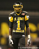 Miramar (Miramar HS) wide receiver Ivan McCartney lines up during the first half of the U.S. Army All-American Bowl on Saturday, January 9, 2010 at the Alamodome in San Antonio, Texas. / Gator Country photo by Tim Casey