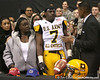 Moreno Valley, Calif. (Rancho Verde HS) defensive end Ronald Powell announces his verbal commitment to play at the University of Florida during the U.S. Army All-American Bowl on Saturday, January 9, 2010 at the Alamodome in San Antonio. / Gator Country photo by Tim Casey