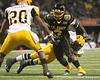 Princeton, Ohio (Princeton HS) running back Spencer Ware runs with the ball during the first half of the U.S. Army All-American Bowl on Saturday, January 9, 2010 at the Alamodome in San Antonio, Texas. / Gator Country photo by Tim Casey