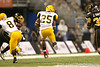 Cayuga, Texas (Cayuga HS) running back Traylon Shead runs with the ball during the first half of the U.S. Army All-American Bowl on Saturday, January 9, 2010 at the Alamodome in San Antonio, Texas. / Gator Country photo by Tim Casey