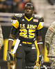 Lakewood, Ohio (Glenville Academic Campus) defensive back Latwan Anderson listens to annoncements before the U.S. Army All-American Bowl on Saturday, January 9, 2010 at the Alamodome in San Antonio, Texas. / Gator Country photo by Tim Casey