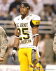 Cayuga, Texas (Cayuga HS) running back Traylon Shead watches pregame activities at the U.S. Army All-American Bowl on Saturday, January 9, 2010 at the Alamodome in San Antonio, Texas. / Gator Country photo by Tim Casey