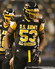 Chatham, Va. (Hargrave Military Academy) defensive end Ego Ferguson lines up during the first half of the U.S. Army All-American Bowl on Saturday, January 9, 2010 at the Alamodome in San Antonio, Texas. / Gator Country photo by Tim Casey