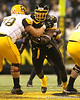 Greenwood, S.C. (Greenwood HS) defensive tackle Kelcy Quarles fights through a block during the first half of the U.S. Army All-American Bowl on Saturday, January 9, 2010 at the Alamodome in San Antonio, Texas. / Gator Country photo by Tim Casey