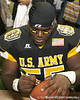 Warner Robins, Ga. (Warner Robins HS) defensive tackle Jeff Whitaker signs an autograph after the U.S. Army All-American Bowl on Saturday, January 9, 2010 at the Alamodome in San Antonio, Texas. / Gator Country photo by Tim Casey