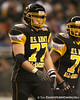 Cincinnati (St. Xavier HS) offensive lineman Matt James lines up during the second half of the U.S. Army All-American Bowl on Saturday, January 9, 2010 at the Alamodome in San Antonio, Texas. / Gator Country photo by Tim Casey