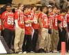 Members of an 8th grade All-America team are recognized during the second half of the U.S. Army All-American Bowl on Saturday, January 9, 2010 at the Alamodome in San Antonio, Texas. / Gator Country photo by Tim Casey