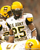 Cayuga, Texas (Cayuga HS) running back Traylon Shead lines up during the first half of the U.S. Army All-American Bowl on Saturday, January 9, 2010 at the Alamodome in San Antonio, Texas. / Gator Country photo by Tim Casey