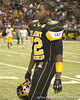 Olive Branch, Miss. (Olive Branch HS) offensive lineman Shon Coleman heads to the locker room during the first half of the U.S. Army All-American Bowl on Saturday, January 9, 2010 at the Alamodome in San Antonio, Texas. / Gator Country photo by Tim Casey