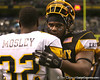 Philadelphia (Washington HS) defensive tackle Sharrif Floyd hugs C.J. Mosley after the U.S. Army All-American Bowl on Saturday, January 9, 2010 at the Alamodome in San Antonio, Texas. / Gator Country photo by Tim Casey