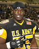 Warner Robins, Ga. (Warner Robins HS) defensive tackle Jeff Whitaker poses for a photo after the U.S. Army All-American Bowl on Saturday, January 9, 2010 at the Alamodome in San Antonio, Texas. / Gator Country photo by Tim Casey