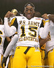 Temple, Texas (Temple HS) wide receiver Lache Seastrunk celebrates after the U.S. Army All-American Bowl on Saturday, January 9, 2010 at the Alamodome in San Antonio. / Gator Country photo by Tim Casey