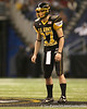 Whitefish Bay, Wis. (Whitefish Bay HS) punter Will Hagerup prepares to punt during the second half of the U.S. Army All-American Bowl on Saturday, January 9, 2010 at the Alamodome in San Antonio, Texas. / Gator Country photo by Tim Casey