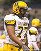 St. Paul, Minn. (Cretin-Derhim HS) offensive lineman Seantrel Henderson lines up during the first half of the U.S. Army All-American Bowl on Saturday, January 9, 2010 at the Alamodome in San Antonio, Texas. / Gator Country photo by Tim Casey