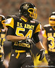 Hollandale, Miss. (Simmons School) defensive end Carlos Thompson  lines up during the first half of the U.S. Army All-American Bowl on Saturday, January 9, 2010 at the Alamodome in San Antonio, Texas. / Gator Country photo by Tim Casey