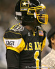 Miramar (Miramar HS) wide receiver Ivan McCartney lines up before  the U.S. Army All-American Bowl on Saturday, January 9, 2010 at the Alamodome in San Antonio, Texas. / Gator Country photo by Tim Casey