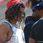 Aaron Robinson looks on before the Florida Gators football camp on June 6th, 2015. Gator Country photo by Kassidy Hill.