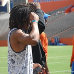 Aaron Robinson before the Florida Gators football camp on June 6th, 2015. Gator Country photo by Kassidy Hill.