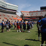 Prospect before the Florida Gators football camp on June 6th, 2015. Gator Country photo by Kassidy Hill.