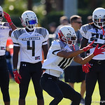 University of Florida Gators recruit wide receiver Anthony Schwartz during the first day of practice for the 2017 Under Armour All-America High School Football Game at the ESPN Wide World of Sports in Orlando, Florida  December 31st, 2017. Gator Country photo by David Bowie.