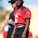 University of Florida Gators recruit quarterback Emory Jones during the first day of practice for the 2017 Under Armour All-America High School Football Game at the ESPN Wide World of Sports in Orlando, Florida  December 31st, 2017. Gator Country photo by David Bowie.