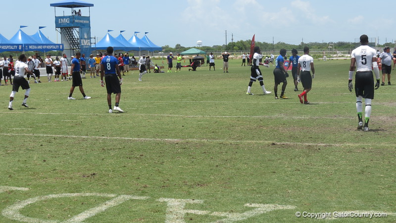 South Florida Express vs. Team Tampa in the championship game