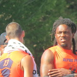 Will Grier and Ermon Lane