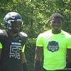 Lorenzo Carter and Da'Shawn Hand