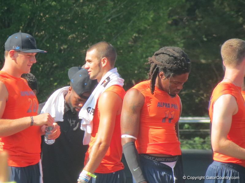 Ermon Lane and Will Grier