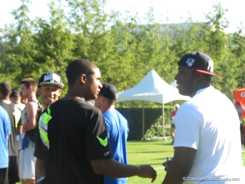 CB Qunicy Wilson (left) and DT Anthony Moten (right)