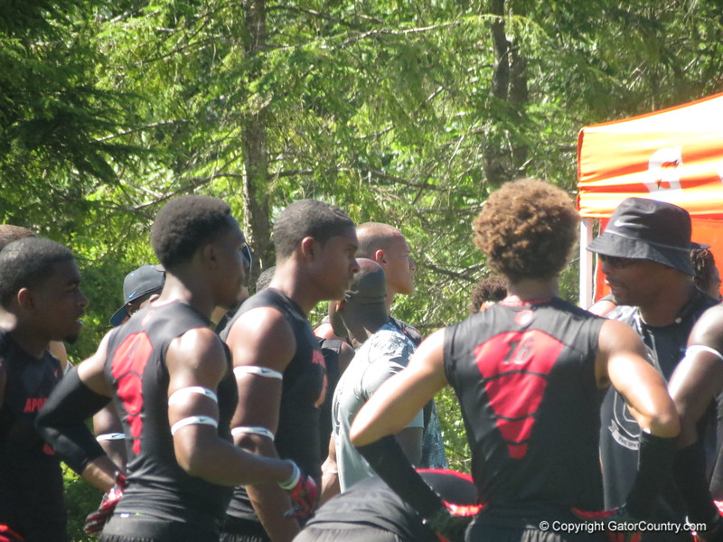 CB Quincy Wilson (middle)