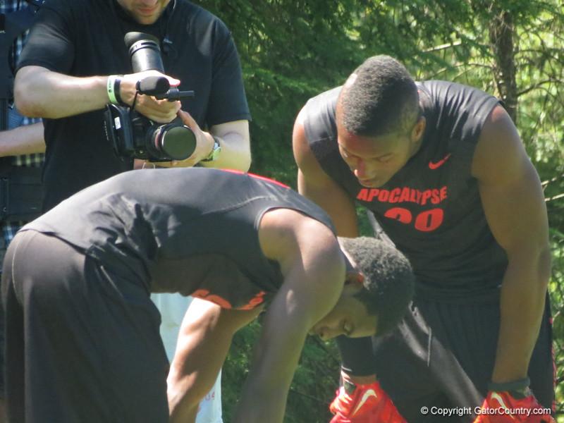 Florida targets KD Cannon (left) and Joe Mixon (right)