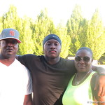 Duke Dawson and his family