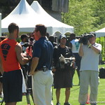 QB Will Grier doing an interview with ESPNU