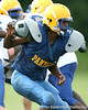 during the Panthers' football practice on Monday, August 24, 2009 at Palatka High School in Palatka, Fla. / Gator Country photo by Tim Casey