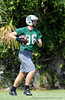 Class of 2010 University of Florida prospect Beckett Whales (TE/DE) of Venice High School works out on the first day of Spring practice on Friday, May 1, 2009 in Venice, Fla. / Gator Country photo by Casey Brooke Lawson