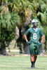 Class of 2011 University of Florida prospect Clay Burton (TE/DE) of Venice High School works out on the first day of Spring practice on Friday, May 1, 2009 in Venice, Fla. / Gator Country photo by Casey Brooke Lawson
