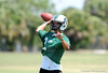 Class of 2010 University of Florida commitment Trey Burton (QB) of Venice High School works out on the first day of Spring practice on Friday, May 1, 2009 in Venice, Fla. / Gator Country photo by Casey Brooke Lawson