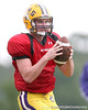 Senior quarterback Cameron Sweat works out during  the Fighting Tigers' practice on Tuesday, September 1, 2009 at Coumbia High School in Lake City, Fla / Gator Country photo by Tim Casey