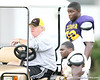 Timmy Jernigan (2011 defensive tackle) works out during the Fighting Tigers' practice on Tuesday, September 1, 2009 at Coumbia High School in Lake City, Fla / Gator Country photo by Tim Casey
