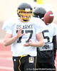 Cincinnati (St. Xavier HS) offensive lineman Matt James works out during the East team's fourth day of practice for the U.S. Army All-American Bowl on Thursday, January 7, 2010 at Gustafson Stadium at the Hardin Athletic Complex in San Antonio. / Gator Country photo by Tim Casey