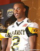 Gardena, Calif. (Junipero Serra HS) wide receiver Robert Woods speaks during a press conference after the fourth day of practice for the U.S. Army All-American Bowl on Thursday, January 7, 2010 at the Grand Hyatt Hotel in San Antonio. / Gator Country photo by Tim Casey
