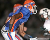 Southeast High School senior Jonathan Dowling (5) runs a pass route during the Venice Indians' 34-10 win against the Seminoles on Friday, October 2, 2009 at John Kiker Memorial Stadium in Bradenton, Fla. / Gator Country photo by Tim Casey