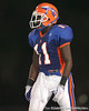 Southeast High School junior wide receiver Reggie Smalls lines up during the Venice Indians' 34-10 win against the Seminoles on Friday, October 2, 2009 at John Kiker Memorial Stadium in Bradenton, Fla. / Gator Country photo by Tim Casey