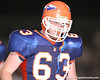 Southeast High School junior offensive lineman Patrick Broder -- during the Venice Indians' 34-10 win against the Seminoles on Friday, October 2, 2009 at John Kiker Memorial Stadium in Bradenton, Fla. / Gator Country photo by Tim Casey