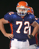 Southeast High School sophomore offensive lineman Anthony Lanzi lines up during the Venice Indians' 34-10 win against the Seminoles on Friday, October 2, 2009 at John Kiker Memorial Stadium in Bradenton, Fla. / Gator Country photo by Tim Casey